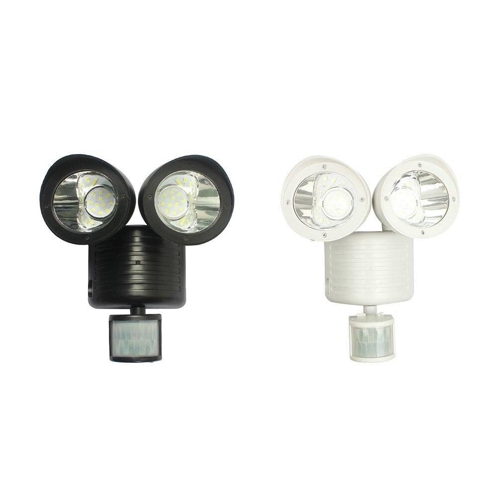 Flood Light 110 Degree Motion Detect Sensor Bulb Outdoor Spot Lamp Wall Fixture