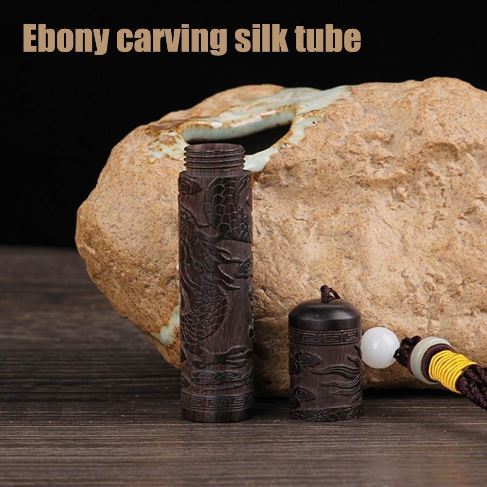Small Ebony Tube