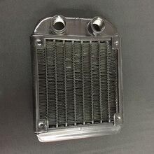 Rangée filetée de refroidissement à eau, radiateur, échangeur de chaleur pour ordinateur PC, rangée industrielle