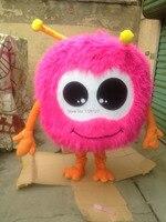Linh vật hồng jojo lông bóng Linh Vật trang phục tùy chỉnh ưa thích trang phục anime cosplay kit mascotte chủ đề ưa thích dress carnival costume