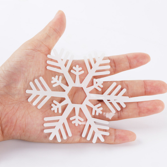 Christmas Snowflake Window Sticker 48 Pieces 10
