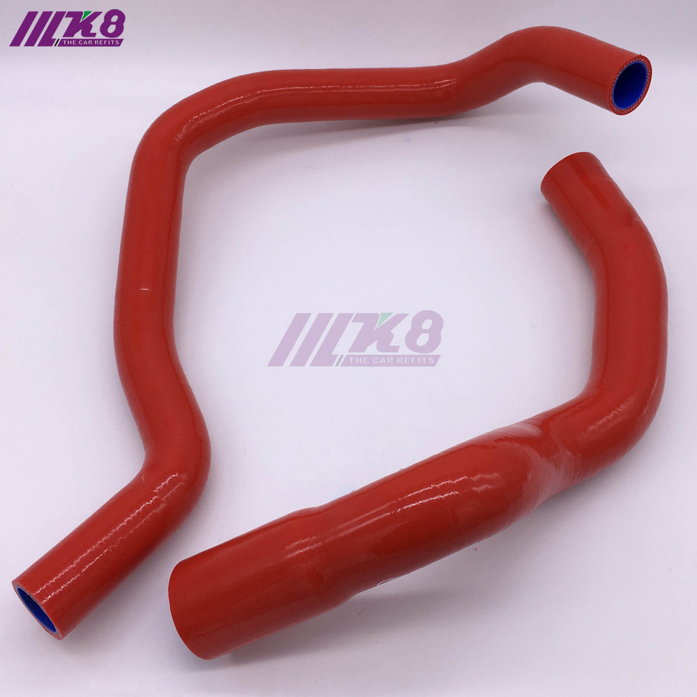 Silicone Radiator Hose For Jeep Cherokee XJ 4.0l 242 CID L6 1984-2005 (2Pcs) Red/Blue/BlackSilicone Radiator Hose For Jeep Cherokee XJ 4.0l 242 CID L6 1984-2005 (2Pcs) Red/Blue/Black