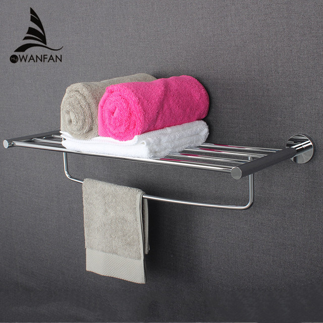 Bathroom Hardware Accessories Set Wall Mounted Chrome Polished Glass