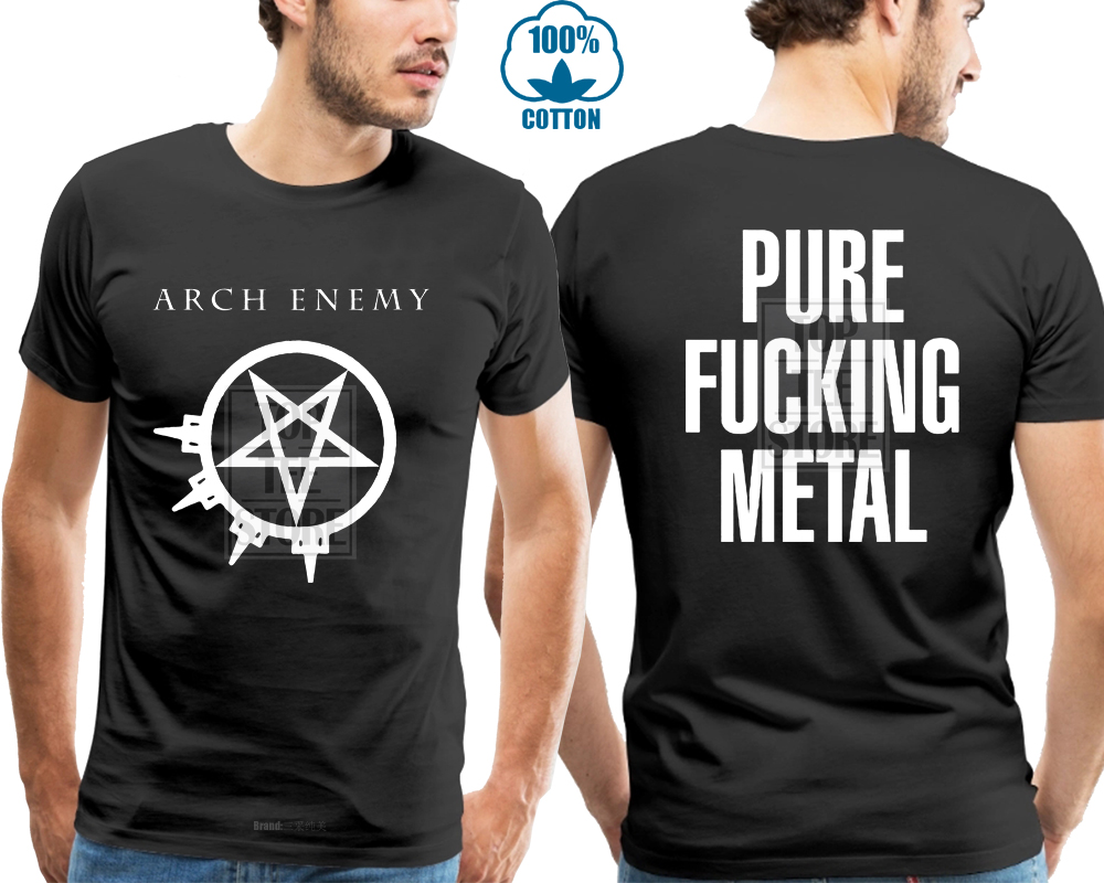Arch Enemy Pure F * * * Ing Metal Shirt S M L Xl Official T Shirt Uncensored Tshirt 2019 Fashion Short