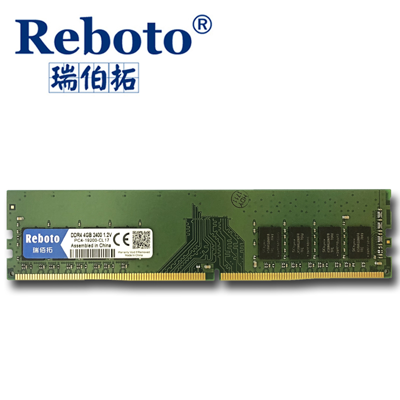 Reboto 4 ГБ памяти ddr4 2133 МГц и 2400 МГц модули памяти для настольных компьютеров поддержку памяти ddr4 материнская плата