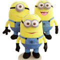 2016 New 1Pc Despicable Me 3D Eyes High Quality Plush Toy 18cm Minions Soft Dolls Jorge Stuart Dave Plush Toys Free Shipping