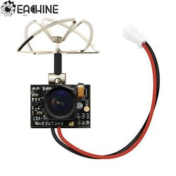 2018 New Arrival Eachine TX02 Super Mini AIO 5.8G 40CH 200mW VTX 600TVL 1/4 Cmos FPV Camera For FPV Multicopter