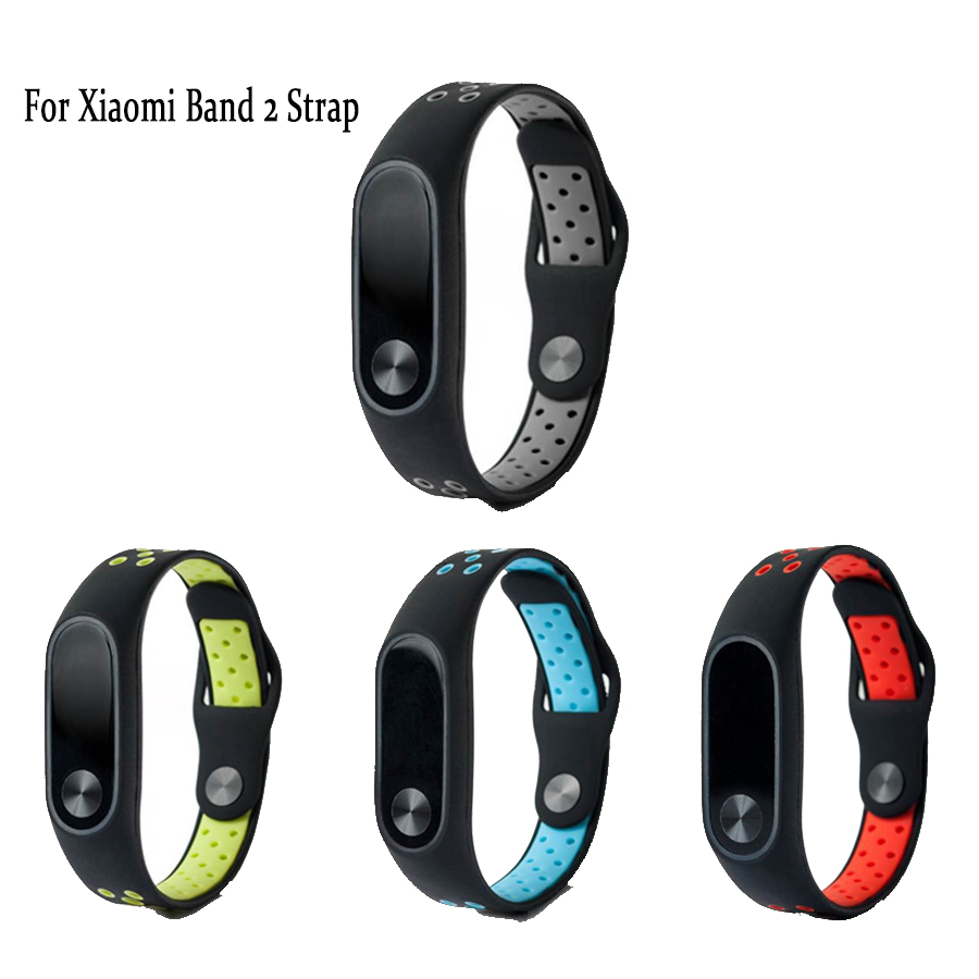 Watchbands Colorful Silicone Wrist Strap Bracelet For Mi Band 2 Double Color Replacement Watchband Smart Band Accessories For Xiaomi Mi2 A Great Variety Of Models Back To Search Resultswatches