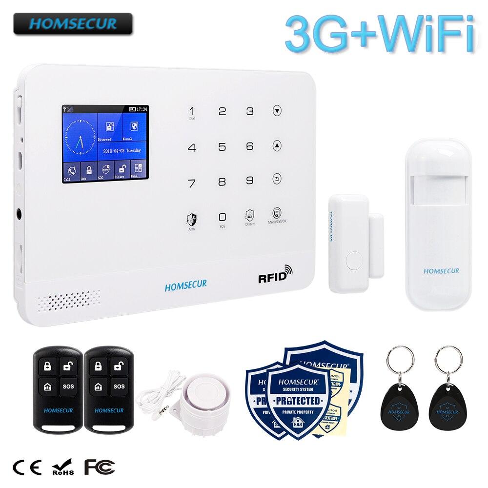 LCD Wireless GSM SMS autodial casa oficina Alarma de Seguridad Safety guard
