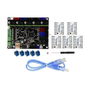 MKS GEN L V1.0 интегрированная материнская плата контроллера + 5 шт. TMC2208 Драйвер шагового двигателя для 3D-принтеры с USB C >> MOXISUM Store