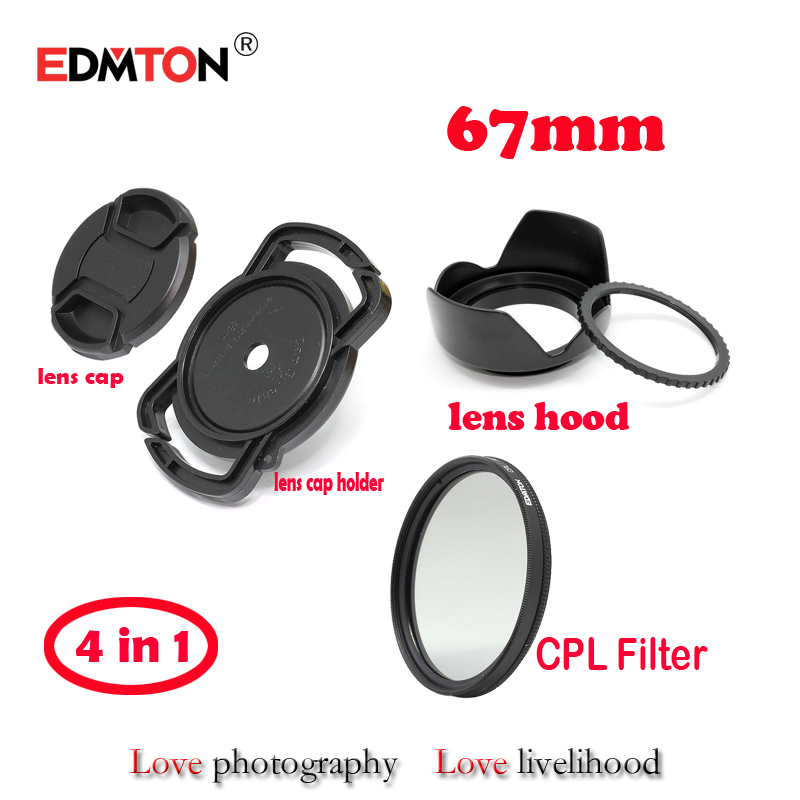 67-milimetrski krožni polarizacijski polarizacijski filter CPL + - Kamera in foto - Fotografija 1