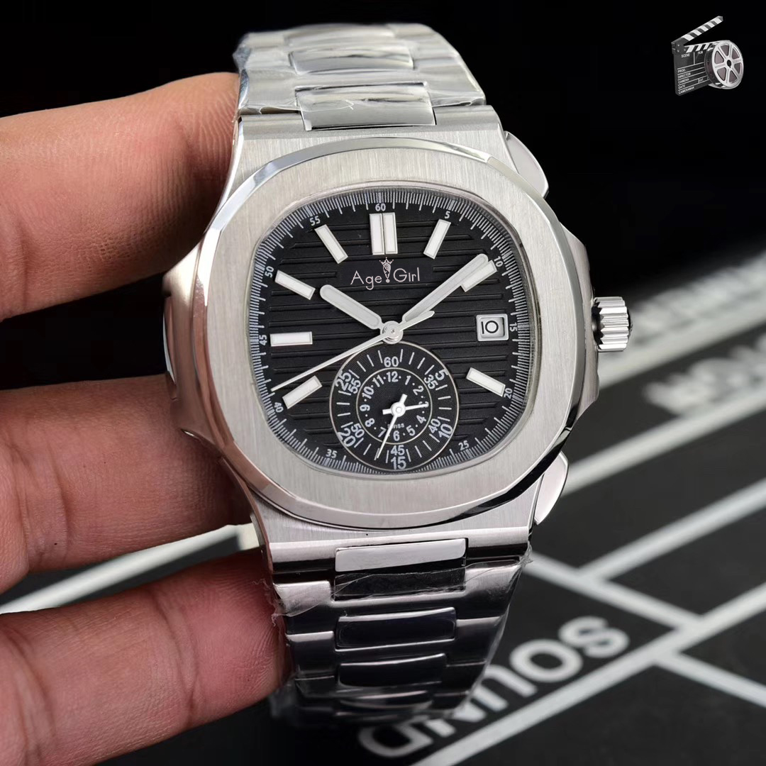 Luxury Brand New Automatic Mechanical Men Watch Sapphire Multiple Time Zone Transparent Silver Grey MoonPhase Watches Black BlueLuxury Brand New Automatic Mechanical Men Watch Sapphire Multiple Time Zone Transparent Silver Grey MoonPhase Watches Black Blue