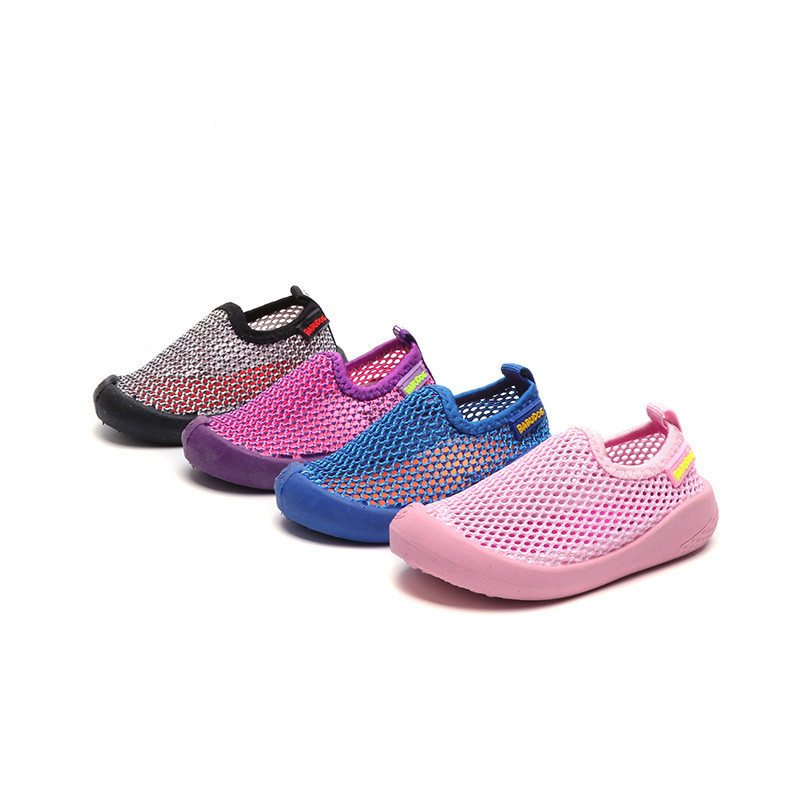 Tenis Infantil 2018 New Summer Mesh Breathable Sport Shoes for Boys Toddler Girls Solid Sneakers Chaussure Enfant Drop Shipping