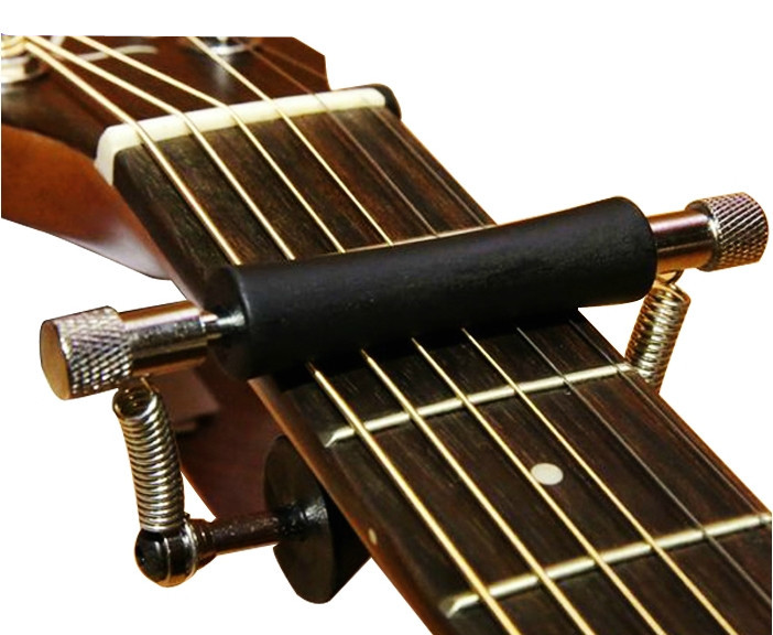2015 NEW ARRIVAL Slide guitar capo guitar parts FOR Acoustic Electric Guitar Bass Ukulele hot 8x meideal capo10 acoustic electric guitar quick change trigger capo clamp black