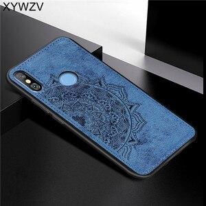 Image 4 - Xiaomi Mi A2 lite Shockproof Soft TPU Silicone Cloth Texture Hard PC Phone Case Xiaomi Mi A2 lite Back Cover Xiaomi Mi A2 lite