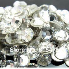 10Bags/Lot super glitter rhinestones Crystal Color ss3-ss50 Non HotFix FlatBack Nail Art Rhinestones,gament Glass rhinestone