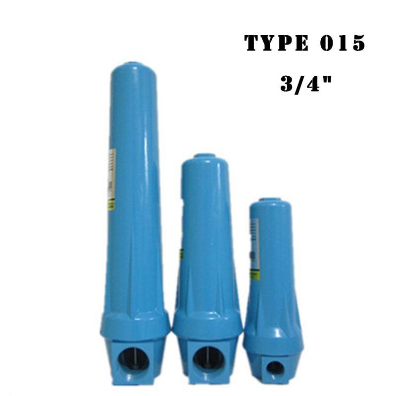 3 4 DN20 Cast Aluminium Precision Filter 015 Q P S C Air Water Separator for
