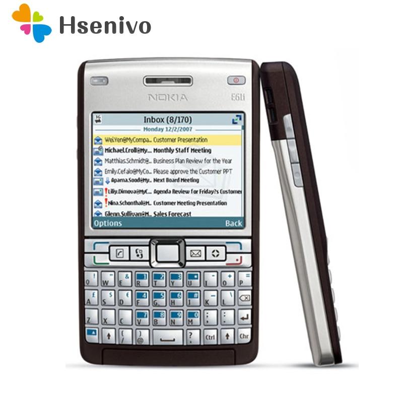 E61i Originele Unlocked Nokia E61 E61i GSM 3G WIFI Bluetooth Mobiele Telefoon Symbian OS 9.1 Met Multi taal gratis verzending