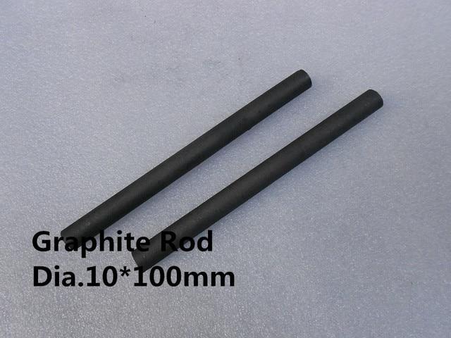 Dia10 * 100 мм Графитовый Стержень, углерода мешалкой для плавления смешивания золото/БЕСПЛАТНАЯ ДОСТАВКА 5 ШТ.