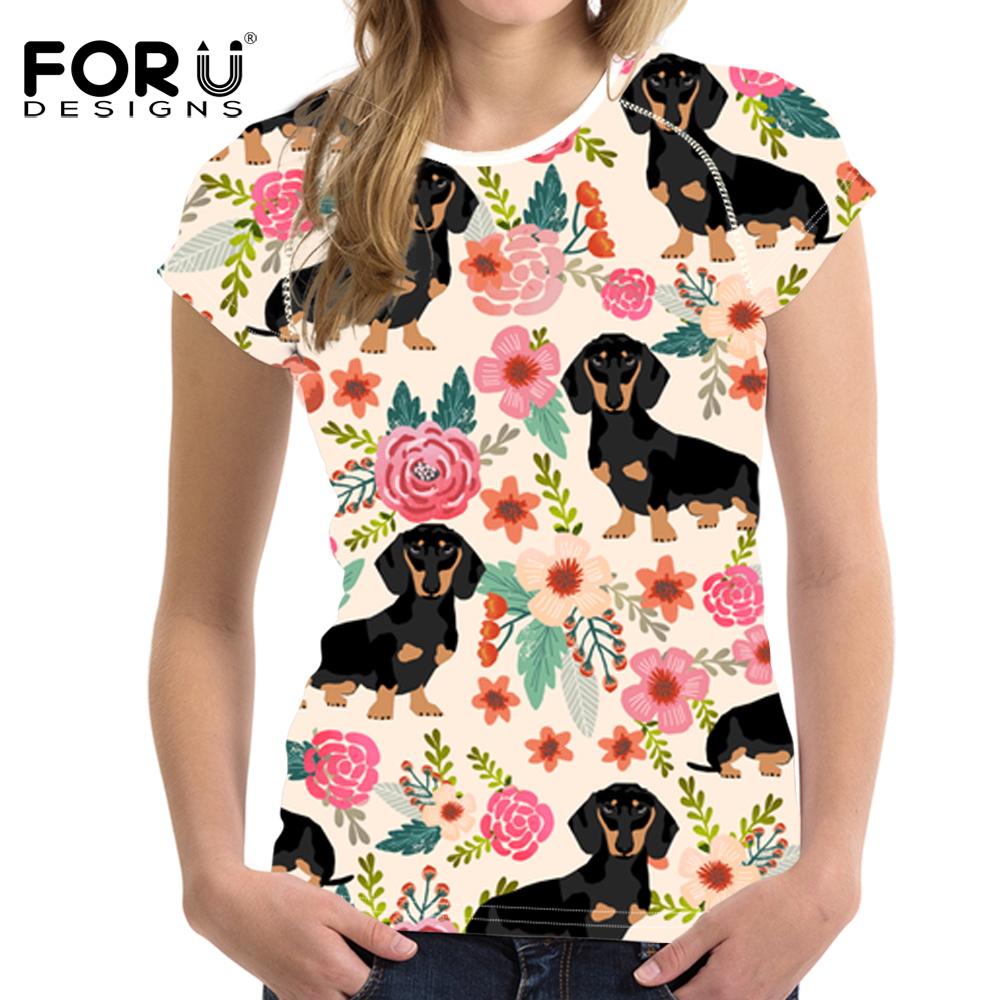 Floral T Shirts Ladies Dreamworks