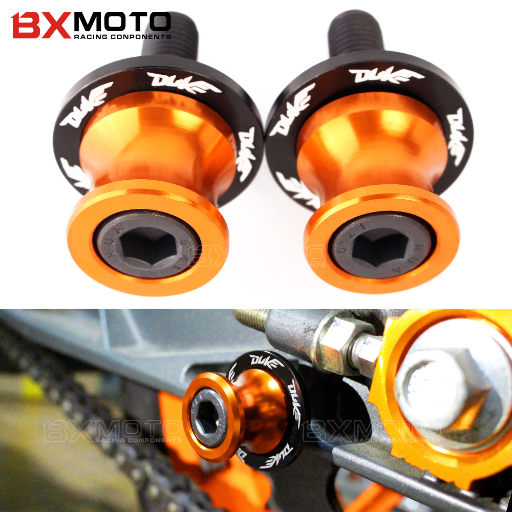 Motorcycle accessories CNC M10 frame stand screws Swingarm Spools slider For KTM RC 125 200 390 duke 125 200 390 RC DUKE 690 990 for ktm logo 125 200 390 690 duke rc 200 390 motorcycle accessories cnc engine oil filter cover cap