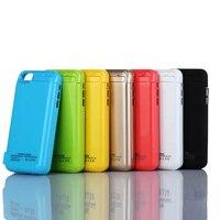 2200 mAh Portátil Cargador de Batería de Reserva de Emergencia Para El Iphone ip 5 5S 5c iPhone5 Cubierta Banco de la Energía Externa 2200 mah caso