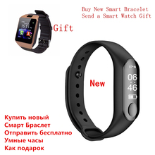 New Fitness Tracker Bracelet Heart Rate Bluetooth Women Men Reloj for Xiaomi Android iPhone IOS VS Amazfit Apple Watch Mi Band 3