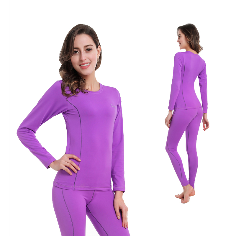 Women Thermal Underwear Women Long Johns Women Quick Dry POLARTEC Ski Jacket And Pants For Skiing/Riding/Climbing/Cycling