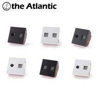 DIY PartsTV, Internet, Telefon Buchsen RJ45, RJ11 CAT5e, CAT3 Steckdose Funktion Schlüssel Für Modul Nur Weiß/Schwarz Kunststoff