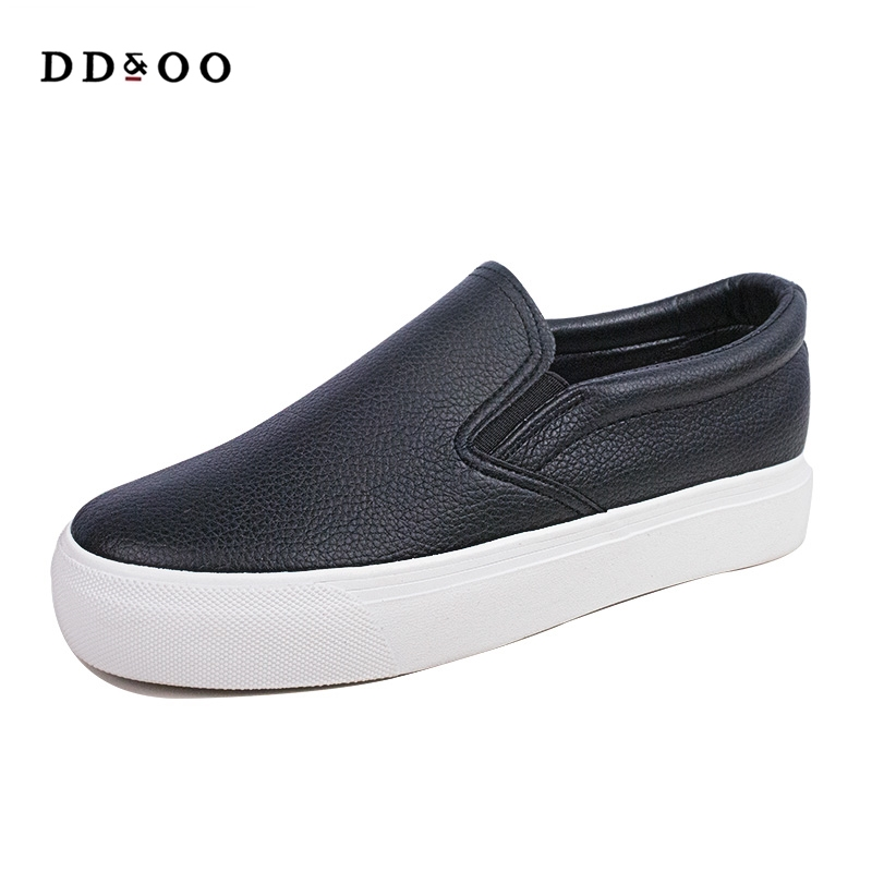 2018 spring summer  new fashion women shoes casual platform solid breathable simple women casual white shoes sneakers tesilixiezi new spring summer fashion candy color bling flats platform shoes wegde breathable women casual shoes footwear