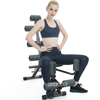 V328 Abdominal Bench Home Gym Exercise Fitness Chair Push Up Leg Abdomen Slimming Sit Up Bench Integrated Fitness Equipment