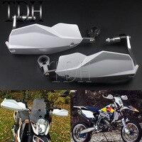 White Universal Motocross 7/8 1 1/8 22/28mm ATV Hand Guard Dirt Bike Enduro MX Handguards Protector For KTM EXC/XCF/SCF/SX/XC