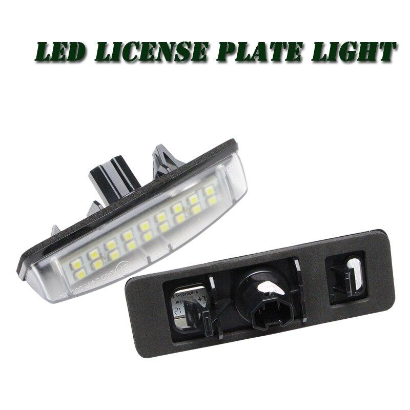 Fehlerlose LED Kennzeichenbeleuchtung OEM Ersatz für Toyota Prius ...