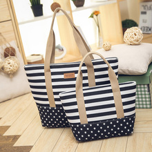 Large Canvas Women Bag 2017 Fashion Ladies Casual Beach Shoulder Female Tote Bag Female Handbag Polyester bolsa feminina