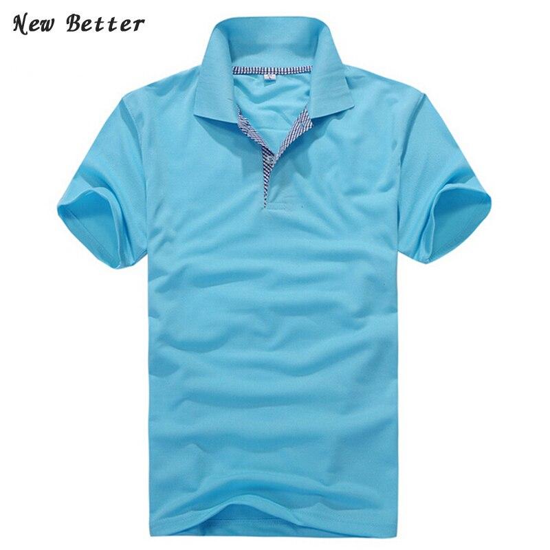 Poletne poletne moške poletje 2019, moške polo majice s kratkimi - Moška oblačila - Fotografija 1