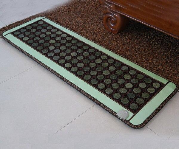 2016 Centre de beauté lit de Massage Jade pierre matelas Jade infrarouge lointain Jade tapis fabriqué en chine comme On le voit à la télévision 50*150 CM livraison gratuite