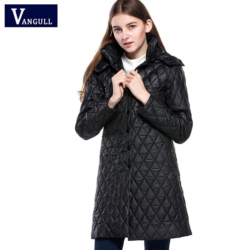 Fashionabl Winter Jacket 2018 New Brand Women Long Warm Hooded   Parka   Cotton Pattern Coats clothing Female jackets Overcoat