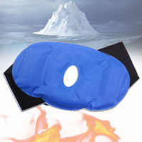 Hot And Cold Sports Injuries Therapy Ice Pain Relief Breathable Wrap Gel Pack Heat Surgery Adjustable Reusable Knee Patch