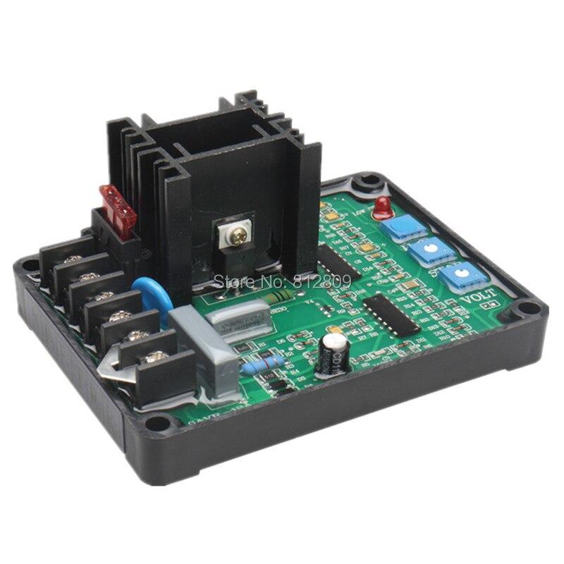 Envío libre GAVR-12A regulador de voltaje automático AVR 12A de Stamford generador sin escobillas GAVR12A (algunas partes de Gemany)