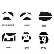 Dla logitech G700S G600 G500S G900 G903 G400 MX518 stopy teflonowe nogi łyżwy gaiming mouse 0.6mm grubość