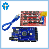 Reprap Mendel Prusa 3D Printer Kit Mega 2560 R3 Development Board RAMPS 1 4 Controller Control