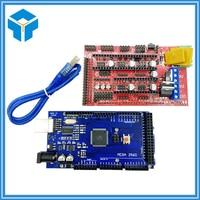 Reprap Mendel Prusa 3D Printer Kit Mega 2560 R3 Development Board RAMPS 1 4 Controller Control