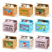 Копилка для кошек, копилка, копилка для собак, депонирующая копилка, сейф для денег, электронный наличный пластиковый Сейф для детей, для дома, C001
