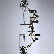 35 ~ 70 фунтов правша или левша стрельба из лука охота блочного Лука наборы для ухода за кожей