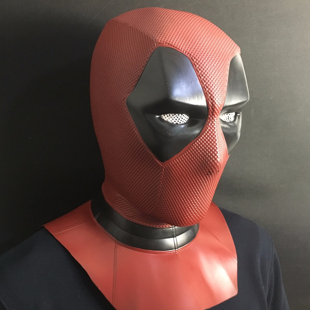 Deadpool 2 Mask Cosplay Wade Wilson Superhero Full Face Helmet Masks Halloween Party Props