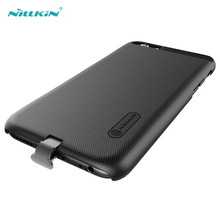 Nillkin Black Qi Wireless Charger Receiver Case for iPhone 6 6S Wireless Charging Cases Mobile Phone Cover for iPhone 6 6S Plus