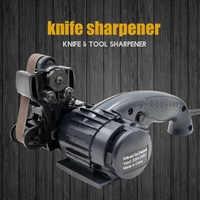 LIHUACHEN Knife Sharpener electric Professional Kitchen Sharpening Stone Grinder Knives Whetstone Tungsten Sharpener tool