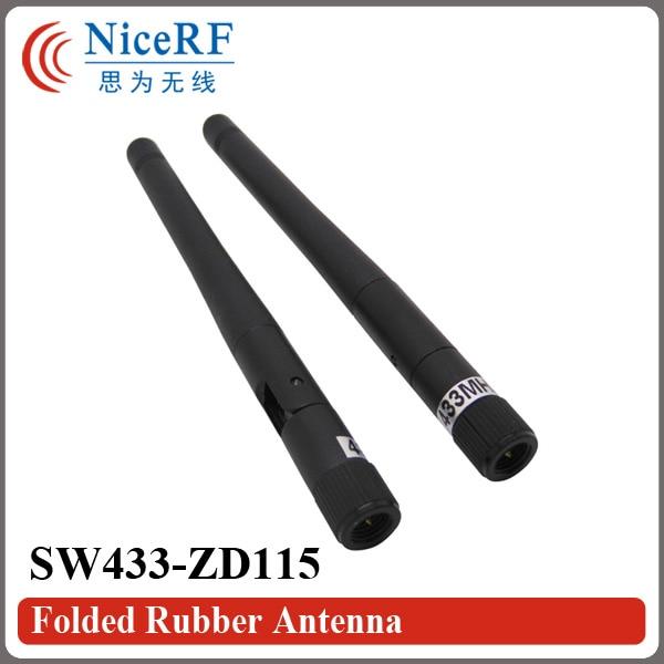 10 개 / 몫 SW433-ZD115 433 백만 헤르쯔 이득 2.15 dBi 접는 - 통신 장비 - 사진 2