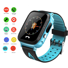 Y34 Kids Smart Watch Anti Lost Child LBS Tracker SOS Positioning Tracking Smart Phone Watch Compatible IOS Android 4g kids smart watch gps lbs tracker sos child wifi hd remote camera smart watch compatible ios