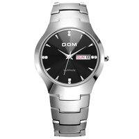 Men Watches Luxury Brand Tungsten Steel 2018 Fashion Quartz Wristwatches 30M Waterproof Business Male Clock Relogio Masculino